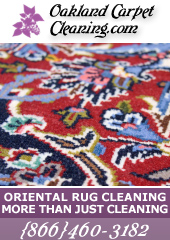 Oakland Oriental Rug Cleaning